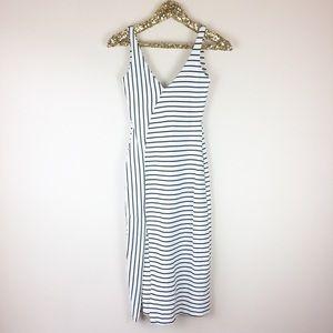 Zara Trafaluc Stripe Midi Dress Size Small